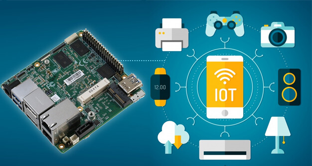 Internet of Things with Intel Up Squared